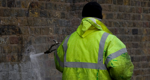 Is Uw Kantoorpand Doelwit Geworden Van Graffiti?